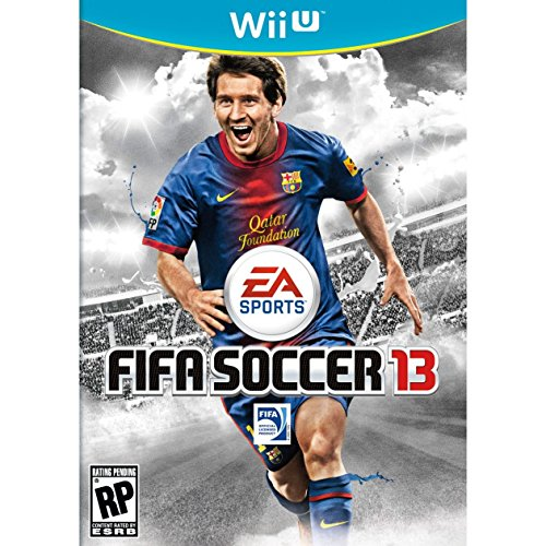FIFA Soccer 13 For Wii U With Manual and Case