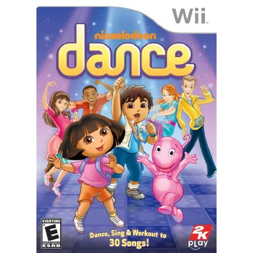 Image 0 of Nickelodeon Dance For Wii Music