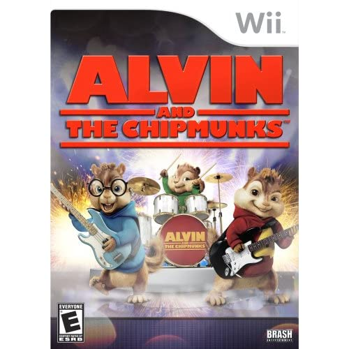 Alvin And The Chipmunks For Wii With Manual And Case