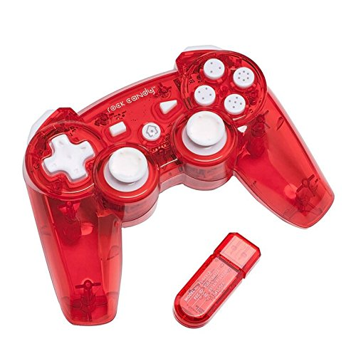 Image 0 of PDP Rock Candy Wireless Controller Red For PlayStation 3 PS3 TUI522