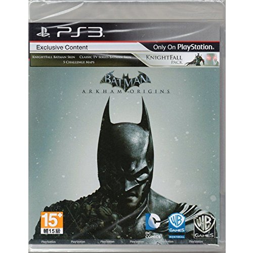 Image 0 of Batman: Arkham Origins Knightfall Game For PlayStation  PS3