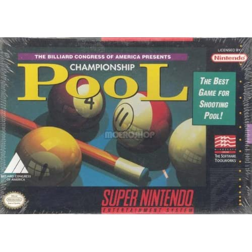 Championship Pool For Super Nintendo SNES