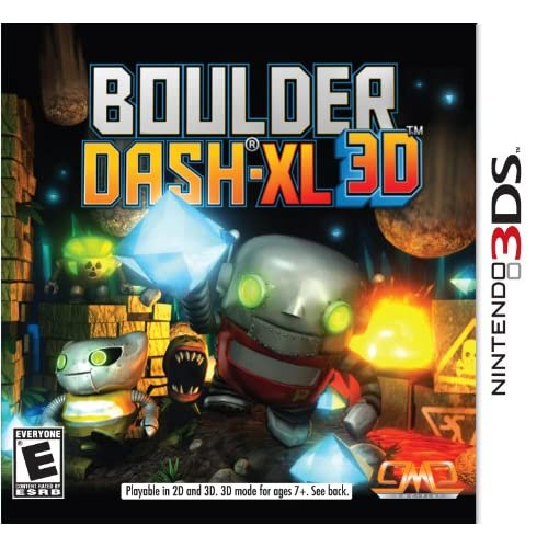 Boulder Dash-Xl 3D Nintendo For 3DS