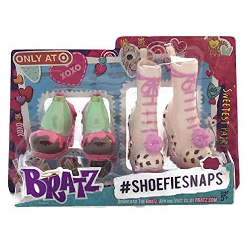 Image 0 of Exclusive 2016 Valentine's Day Bratz Shoefie Snaps Shoe Pack Toy