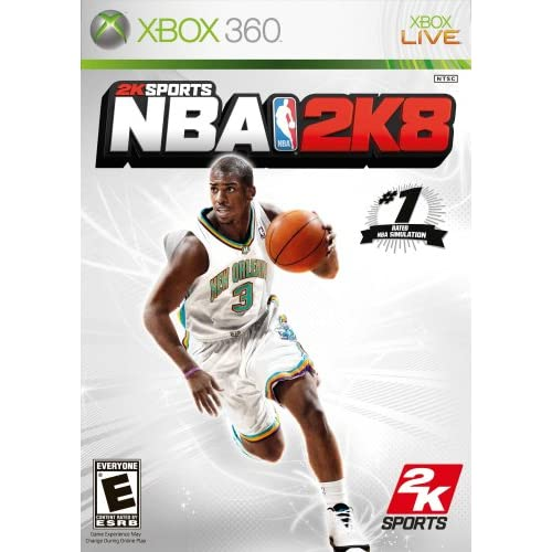 NBA 2K8 For Xbox 360 Basketball