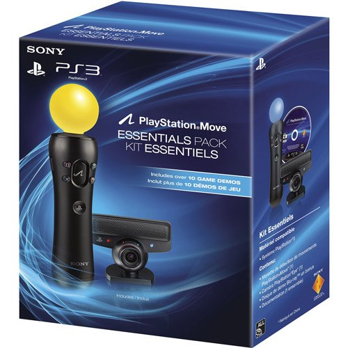 Image 0 of PS3 Move Essentials Pack W/ Motion Controller