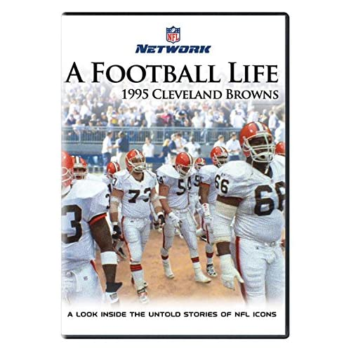 Image 0 of A Football Life: 1995 Cleveland Browns On DVD With Josh Charles