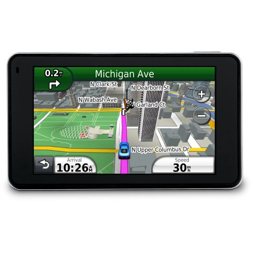 Garmin Nuvi 3790T 4.3-inch Bluetooth Portable GPS Navigator With