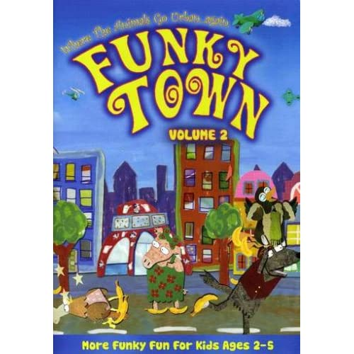 Image 0 of Funky Town Vol 2 On DVD Children
