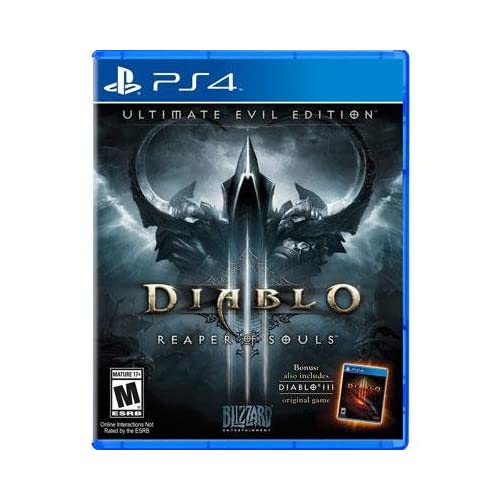 Diablo III: Ultimate Evil Edition For PlayStation 4 PS4 RPG