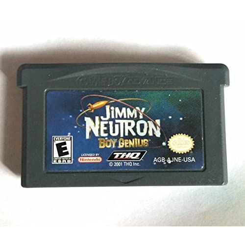Image 0 of Jimmy Neutron Boy Genius GBA For GBA Gameboy Advance
