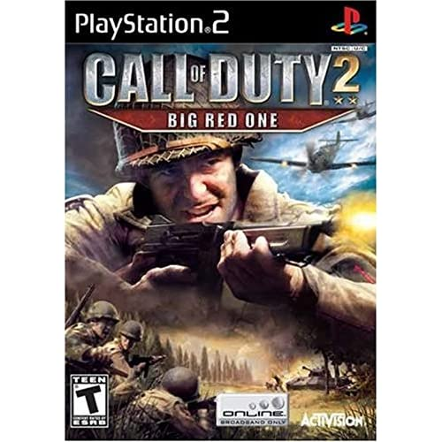 Call Of Duty 2: Big Red One For PlayStation 2 PS2 COD