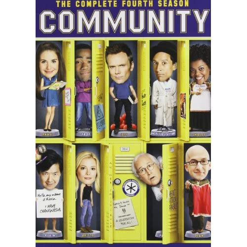 Image 0 of Community: Season 4 On DVD With Alison Brie Comedy