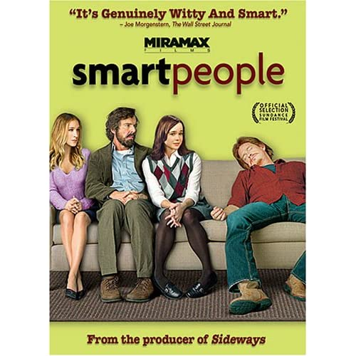 Image 0 of Smart People On DVD with Dennis Quaid Drama