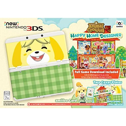 Image 0 of Nintendo Animal Crossing: Happy Home Designer New 3DS Bundle