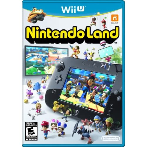 Nintendo Land With Manual And Case For Wii U