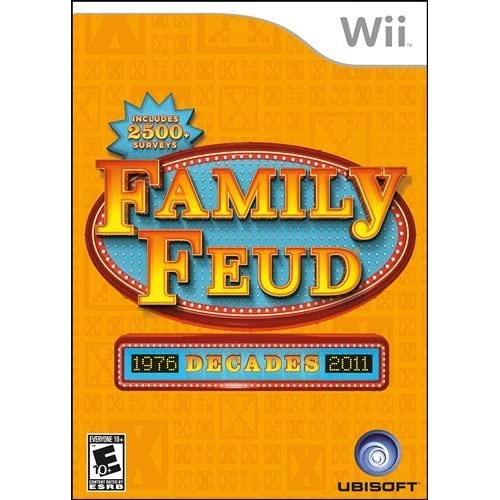 Image 0 of Family Feud Decades For Wii Trivia