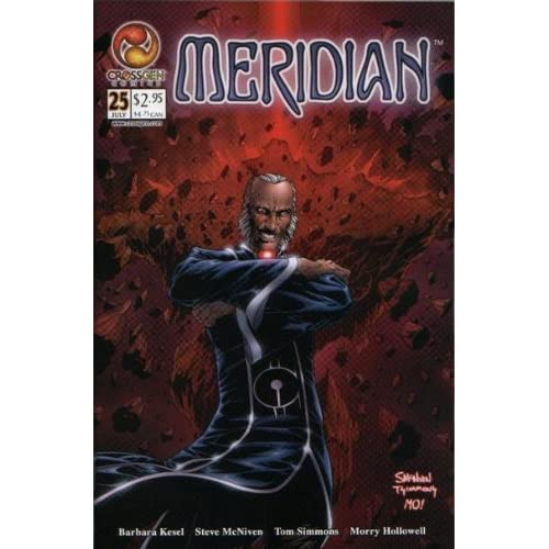 Meridian #25 July 2002 Comic Book