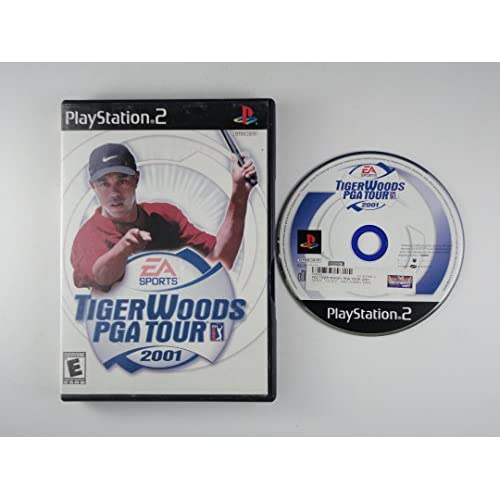 Image 0 of Tiger Woods PGA Tour 2001 For PlayStation 2 PS2 Golf