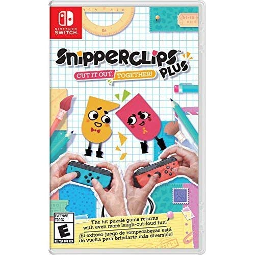 Snipperclips Plus: Cut It Out Together! For Nintendo Switch