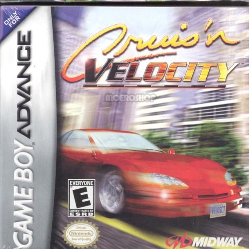 Cruis'n Velocity For GBA Gameboy Advance