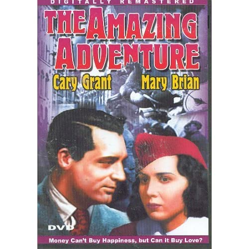 Image 0 of The Amazing Adventure On DVD with Cary Grant