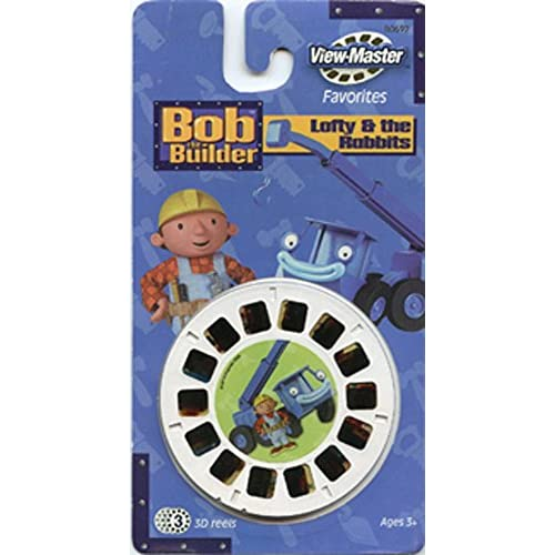 Bob The Builder View-Master 3 Reel Set 21 3D Images Toy