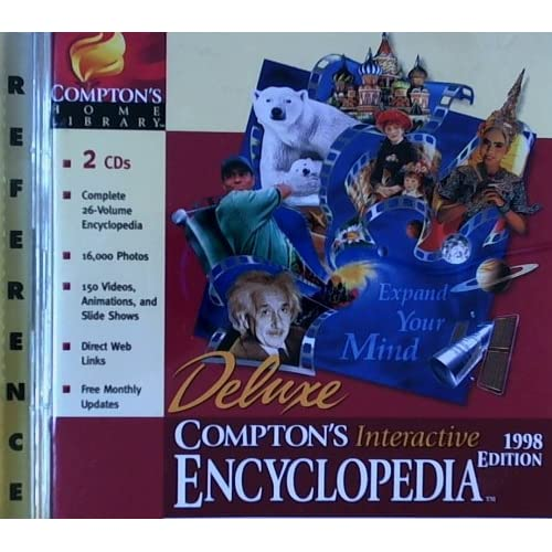 Image 0 of Comptons Interactive Encyclopedia 98 L/WW95/US Software