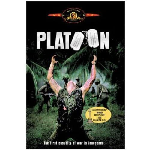 Platoon On DVD With Charlie Sheen