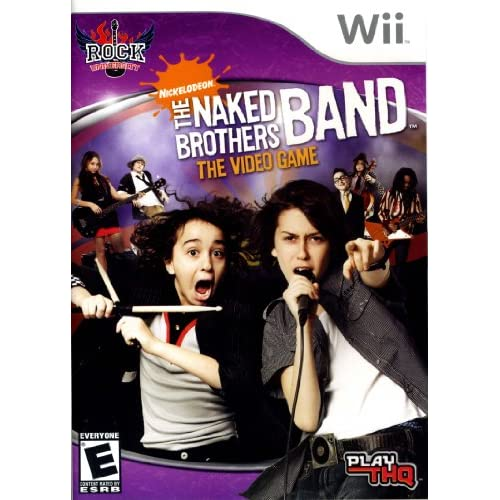 Naked Brothers Band For Wii Action