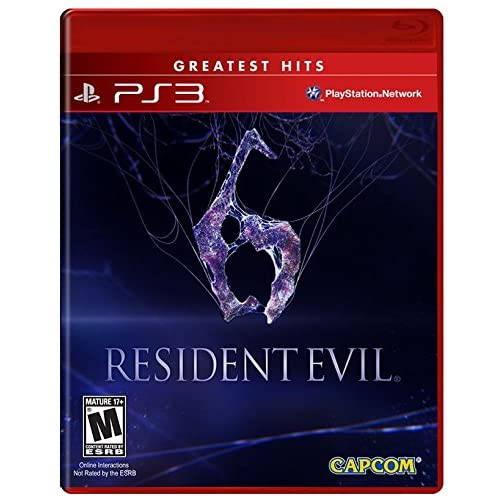 Resident Evil 6 For PlayStation 3 PS3 Shooter