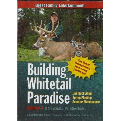 Image 0 of Building Whitetail Paradise Volume 3 On DVD With Bob Coine