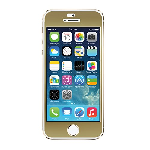 Image 0 of Agent 18 iPhone 5 5S SE Screen Film Gold Case Cover Fitted FRNT/G1