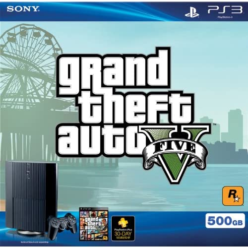 Image 0 of PS3 500 GB Grand Theft Auto V Bundle Super Slim Console