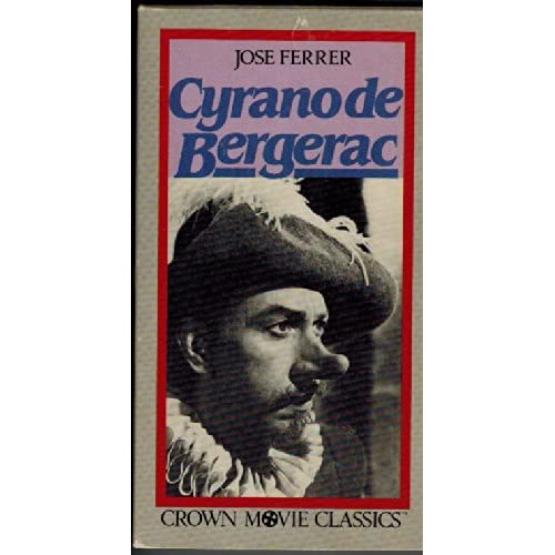 Cyrano De Bergerac On VHS With Jose Ferrer
