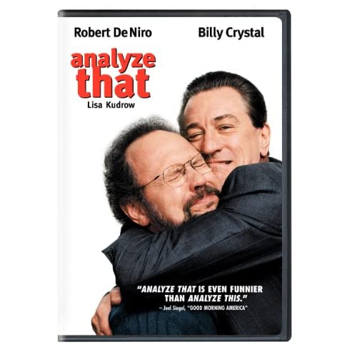 Image 0 of Analyze That Widescreen On DVD With Robert De Niro Comedy