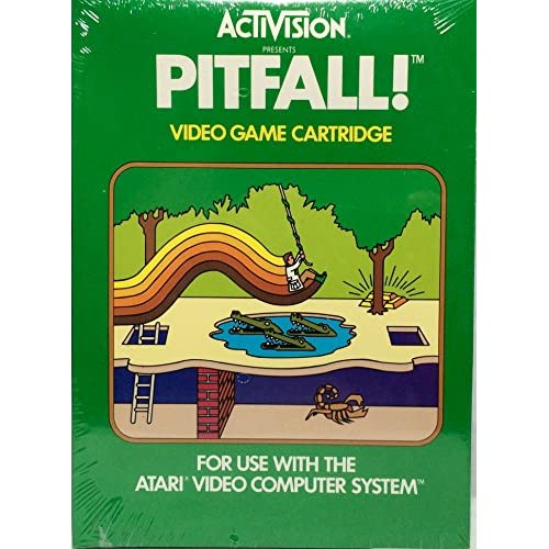 Pitfall! For Atari Vintage