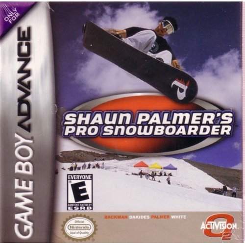 Shaun Palmer's Pro Snowboarder For GBA Gameboy Advance Extreme Sports