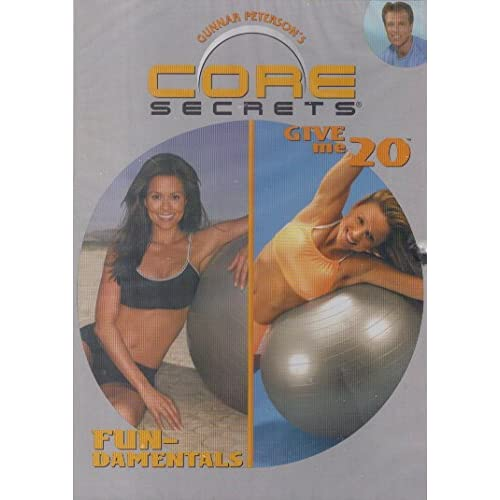 Image 0 of Core Secrets Fun-Damentals / Give Me 20 On DVD With Gunnar Peterson Exercise