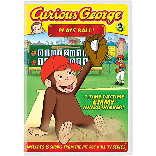 Image 0 of Curious George Plays Ball! On DVD With Frank Welker Anime