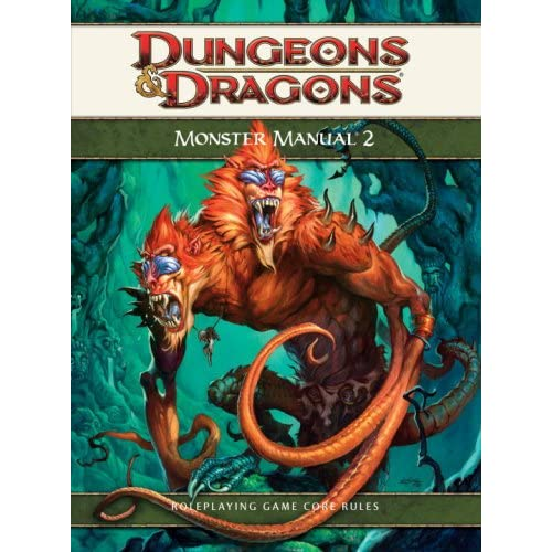 Monster 2: A 4th Edition D&d Core Rulebook D&d Supplement Strategy Guide