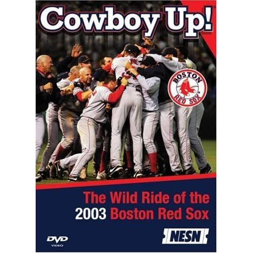 Image 0 of MLB Boston Red Sox Cowboy Up! The Wild Ride Of 2003 On DVD