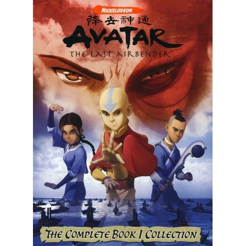 Image 0 of Avatar: The Last Airbender The Complete Book One Collection On DVD With Dee Brad