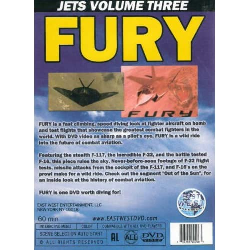 Image 0 of Jets Volume Three: Fury On DVD