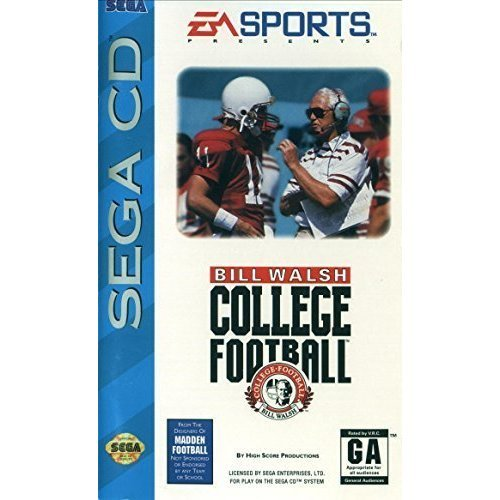Bill Walsh College Football For Sega CD