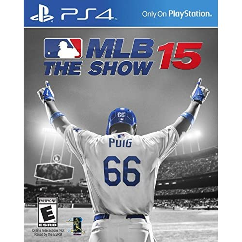 MLB 15: The Show For PlayStation 4 PS4 Baseball