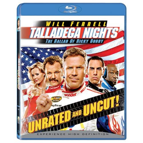 Image 0 of Talladega Nights: The Ballad Of Ricky Bobby Unrated And Uncut Blu-Ray On Blu-Ray