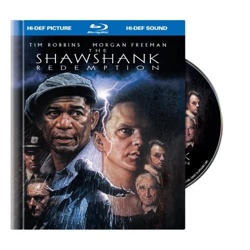 Image 0 of The Shawshank Redemption Blu-Ray Book Packaging On Blu-Ray With Tim Robbins