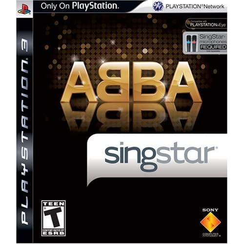 Image 0 of Singstar ABBA Stand Alone For PlayStation 3 PS3 Music