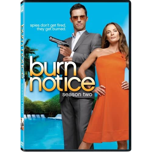 Image 0 of Burn Notice: Season 2 On DVD With Jeffrey Donovan Mystery
